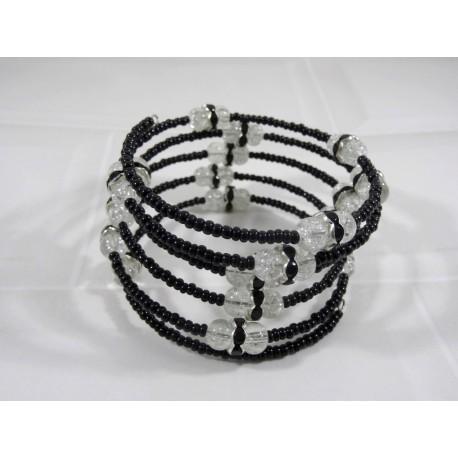 Tourbillon d'Argent - Bracelet Fil Mémoire