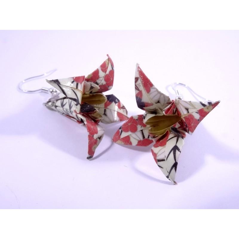 Lys En Origami boucles lys origami fleurs de cerisier